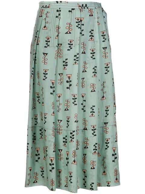 Marni Novelty Print Pleated Skirt - Farfetch