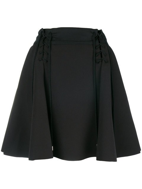 Carven High-waisted Flared Skirt - Farfetch
