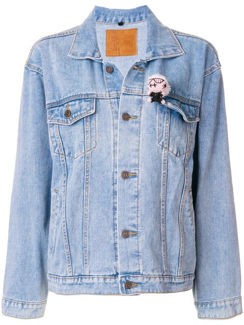 Mua Mua Chic Happens Denim Jacket - Farfetch