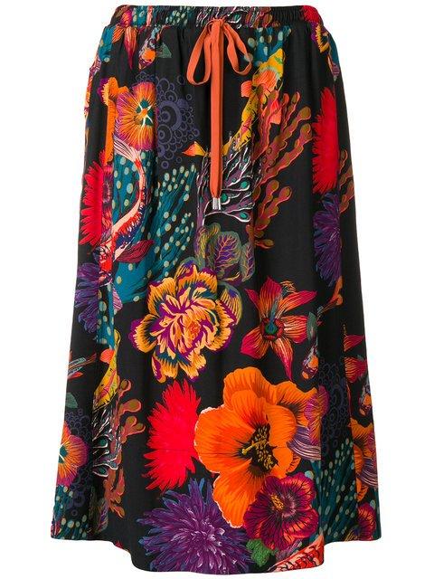 Paul Smith Ocean Print Skirt - Farfetch