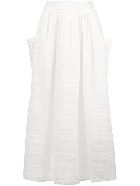 Mara Hoffman Viola Textured Midi Skirt - Farfetch
