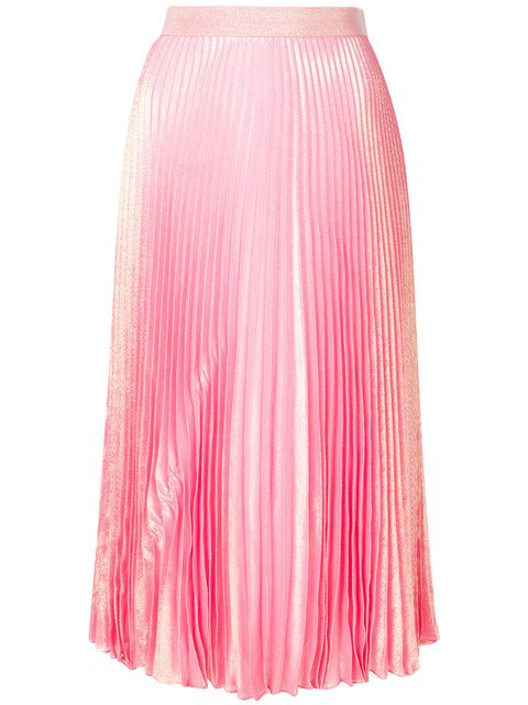 Christopher Kane Irridescent Pleated Skirt - Farfetch