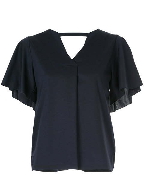 Loveless Short-sleeve Shift Blouse - Farfetch