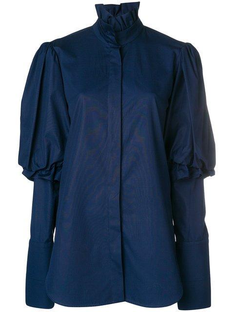 Ellery Rancho Puff Sleeve Shirt - Farfetch