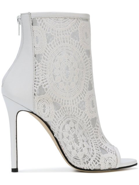 Marc Ellis Embroidered Ankle Boots - Farfetch
