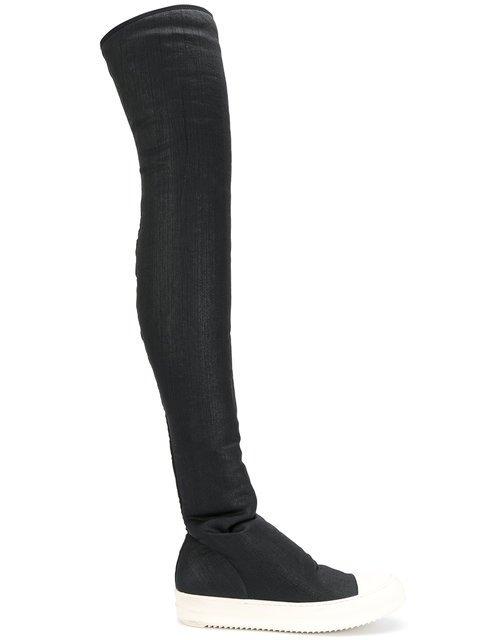 Rick Owens DRKSHDW Sock Sneaker Boots  - Farfetch