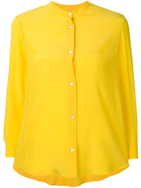 Blanca 3/4 Sleeve Button Blouse - Farfetch