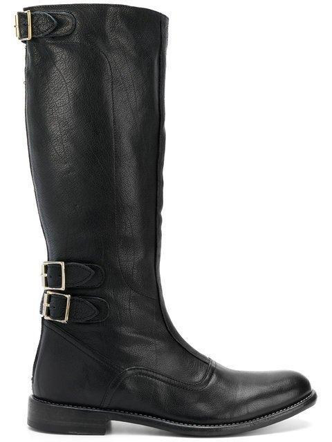 Paul Smith Calf Length Buckle Boots - Farfetch