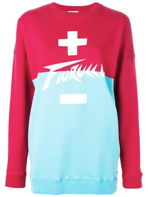 Fiorucci Oversized Logo Sweatshirt - Farfetch