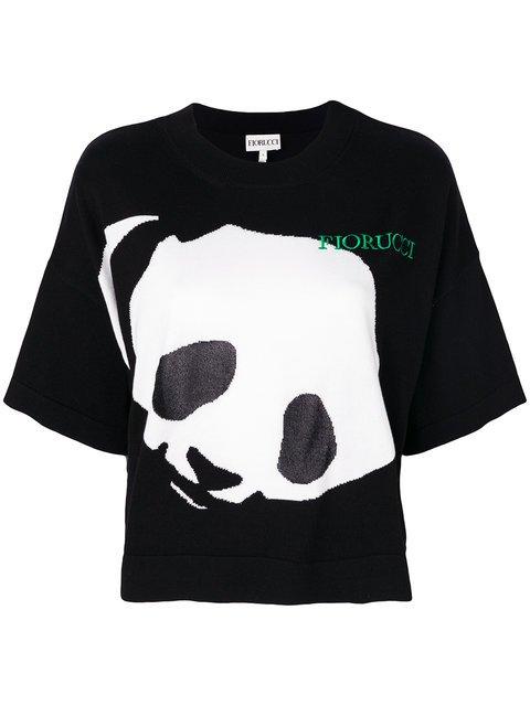 Fiorucci Panda Print T-shirt - Farfetch
