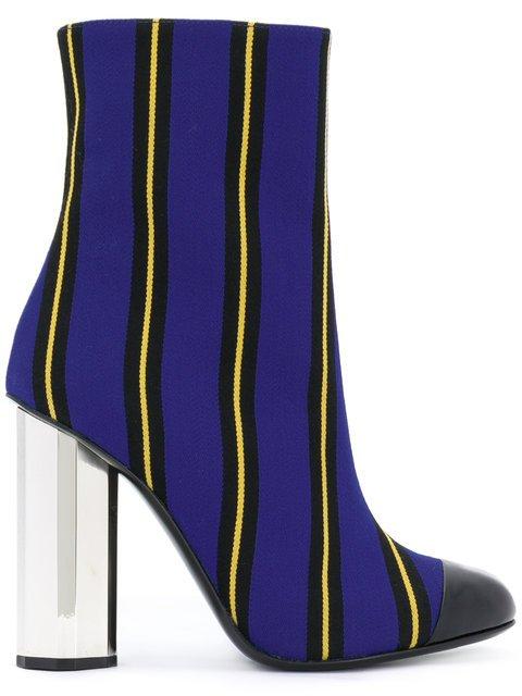 Marco De Vincenzo Striped Ankle Boots - Farfetch