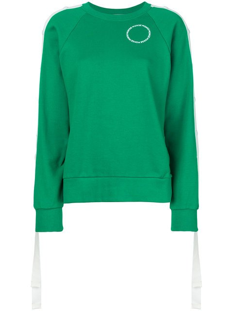 Monse Press Stud Sleeve Sweatshirt - Farfetch