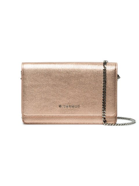 Givenchy Rose Gold Pandora Leather Wallet Bag - Farfetch