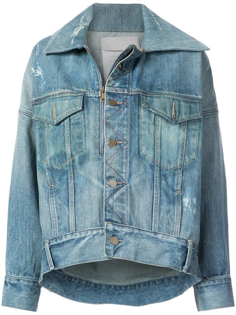 Monse Oversized Denim Jacket - Farfetch