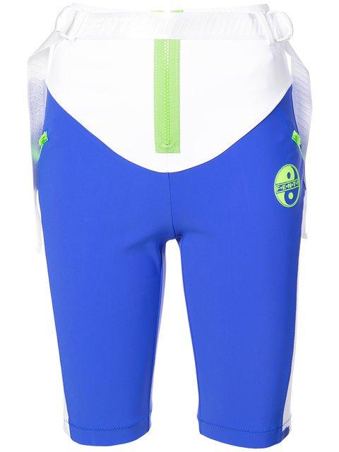 Fenty X Puma Panelled Biker Shorts - Farfetch
