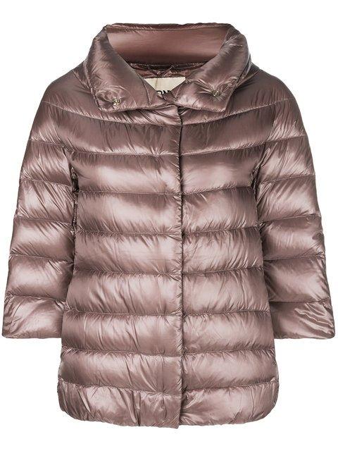 Herno 3/4 Sleeve Puffer Jacket - Farfetch