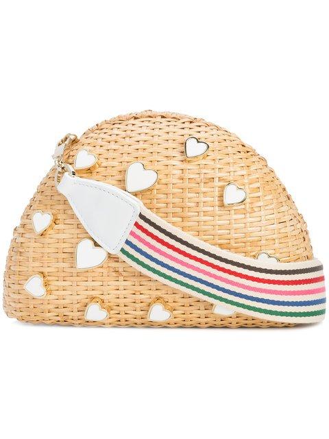 Edie Parker Embellished Woven Bag - Farfetch