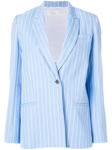 Victoria Victoria Beckham Tailored Fitted Blazer - Farfetch
