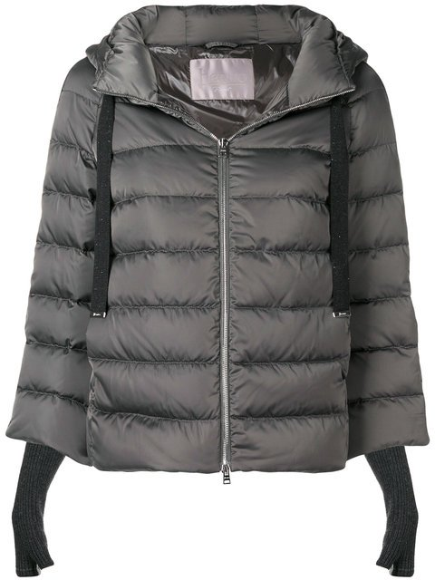 Herno Padded Zipped Jacket - Farfetch