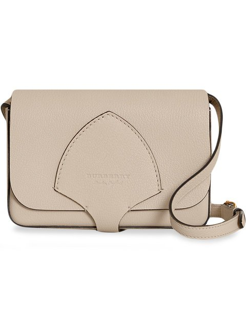 Burberry Equestrian Shield Leather Wallet With Detachable Strap - Farfetch