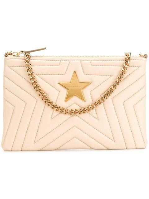 Stella McCartney Stella Star Clutch Bag - Farfetch