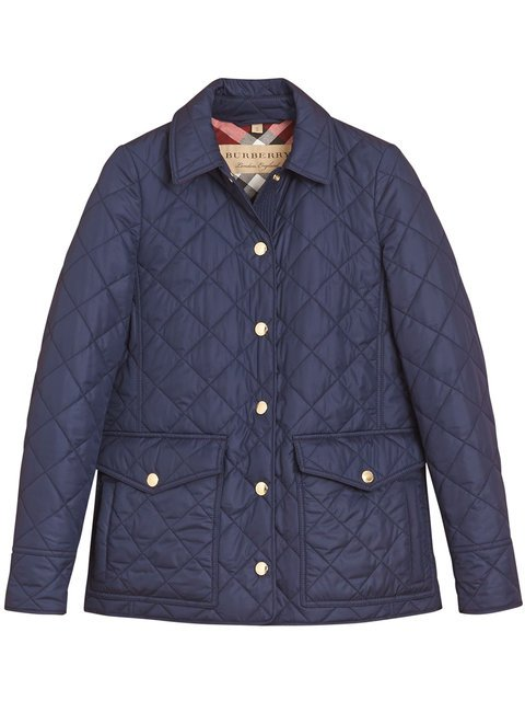 Burberry Diamond Quilted Coat - Farfetch