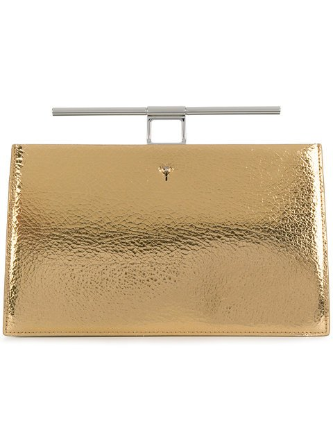 The Volon Top Bar Clutch - Farfetch