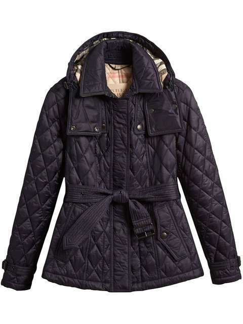 Burberry Quilted Trench Jacket With Detachable Hood - Farfetch