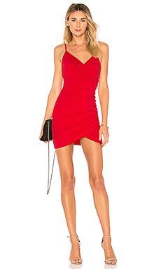 Dahlia Wrap Mini Dress                                             by the way.