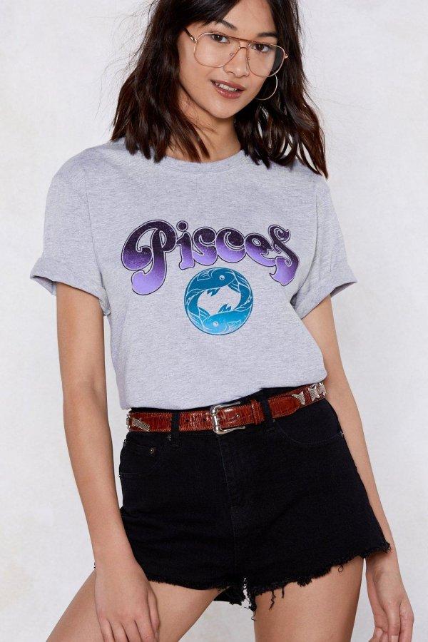 Pisces Girl Tee