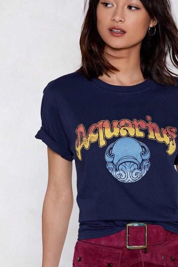 Aquarius Girl Tee