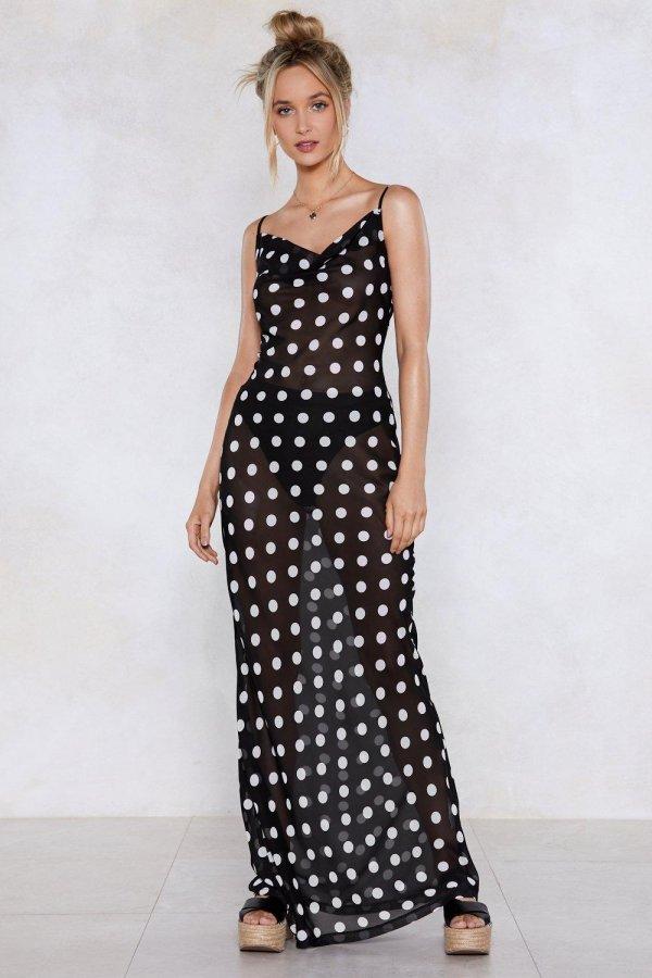 Best of My Love Polka Dot Dress
