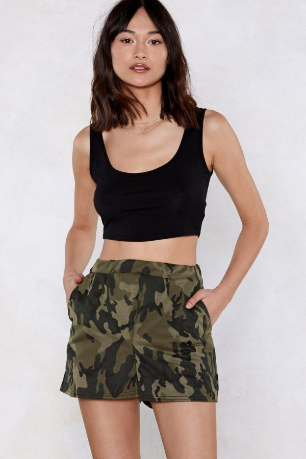 March On Camo Shorts