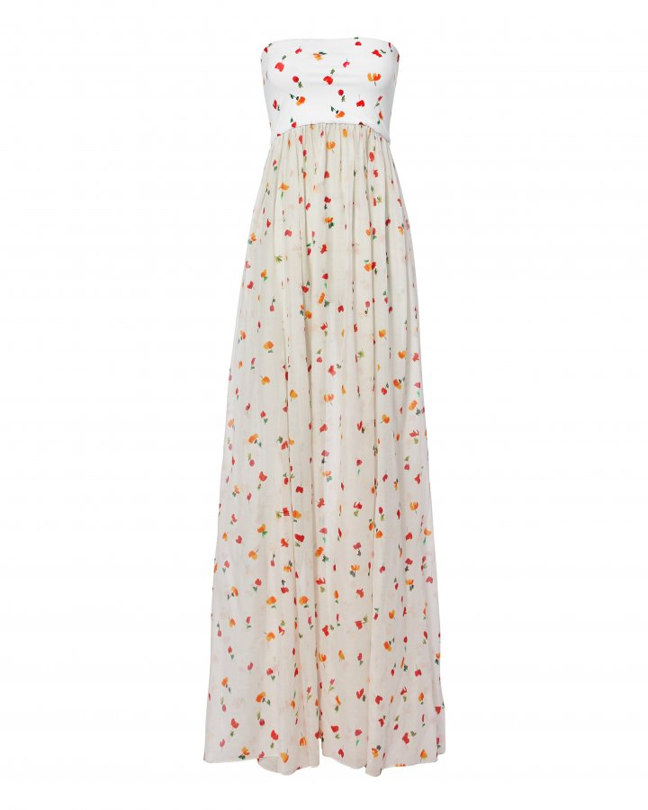 Mary Floral Maxi Dress