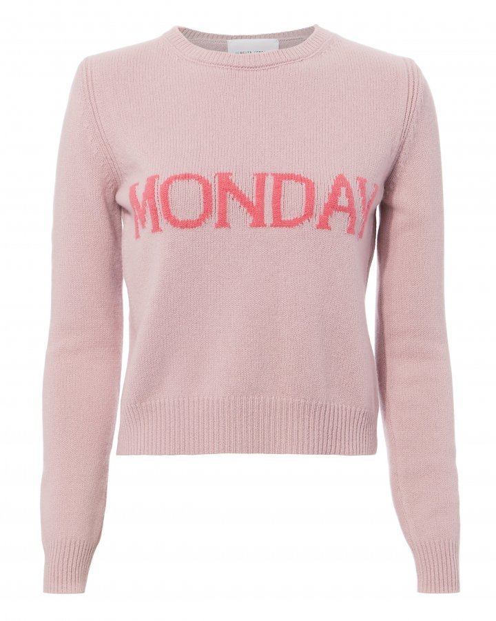 Monday Pink Sweater