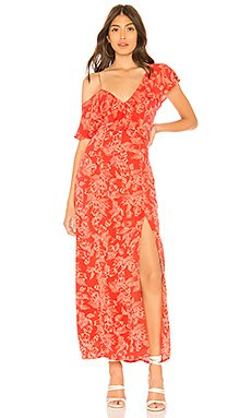 Midnight Flower Dress                                             AMUSE SOCIETY