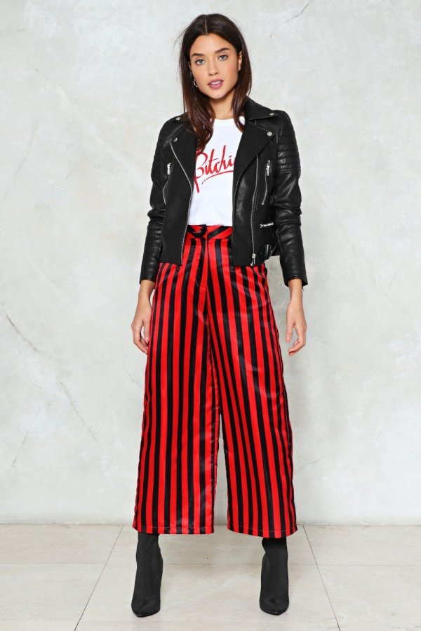 Draw the Line Striped Pants