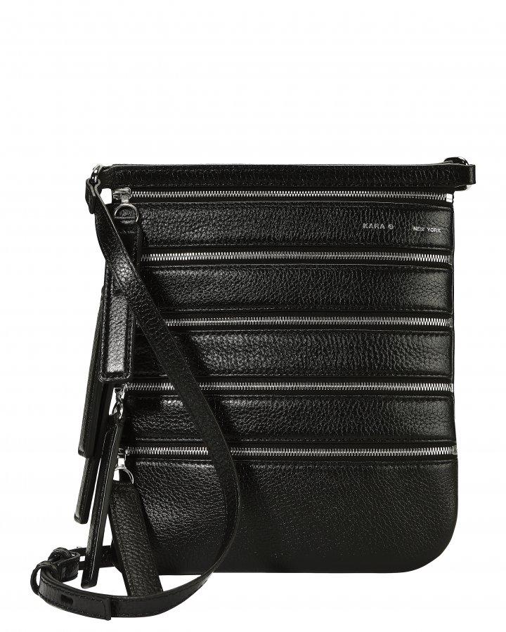 Multi Zip Crossbody Bag