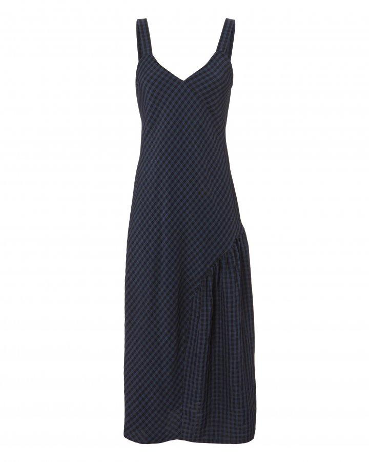 Gingham Slip Dress