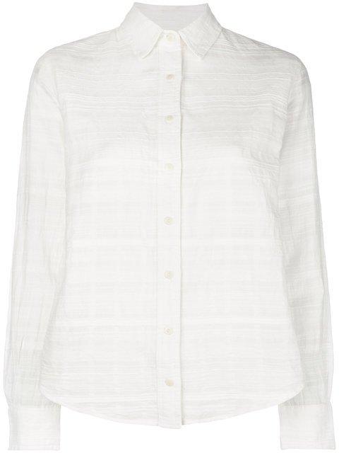 Mara Hoffman Textured Button Down Shirt - Farfetch