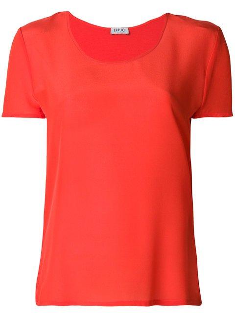 Liu Jo Synthpop Slim Fit T-shirt - Farfetch