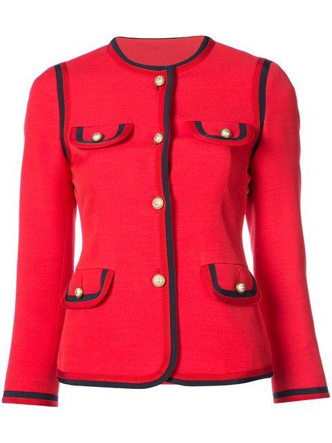 Gucci Notched Collar Jacket - Farfetch