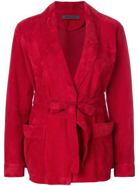 Simonetta Ravizza Belted Jacket - Farfetch