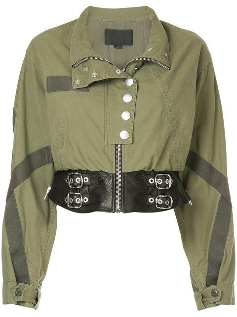 Alexander Wang Belted Cropped Jacket - Farfetch