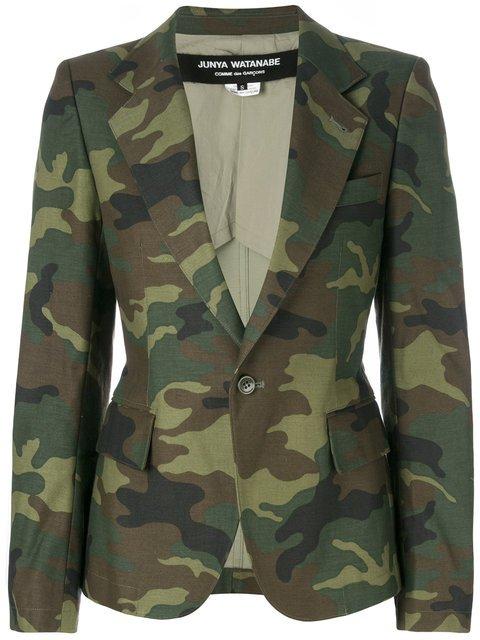 Junya Watanabe Camouflage Blazer - Farfetch