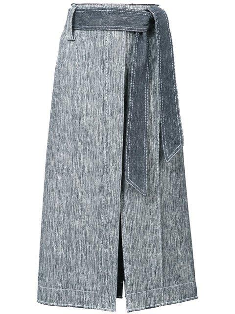 Derek Lam Belted Pencil Skirt - Farfetch