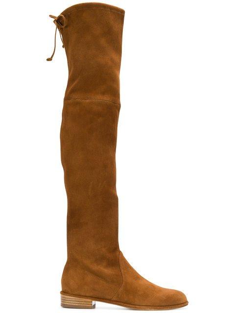 Stuart Weitzman Lowland Over-the-knee Boots - Farfetch