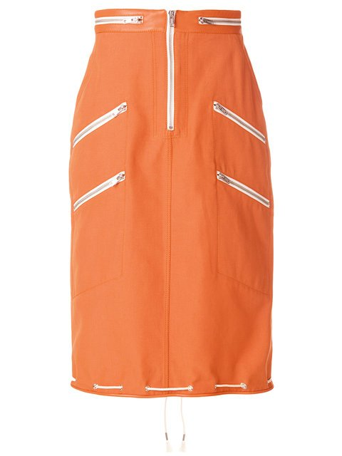 Calvin Klein 205W39nyc Zipped Pencil Skirt - Farfetch