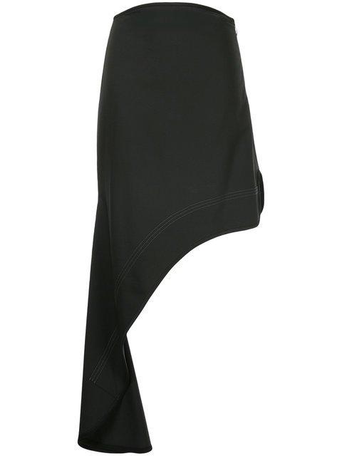 Ellery Minimalism Asymmetric Skirt - Farfetch