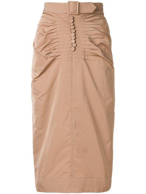 Nº21 Belt Detail Skirt - Farfetch